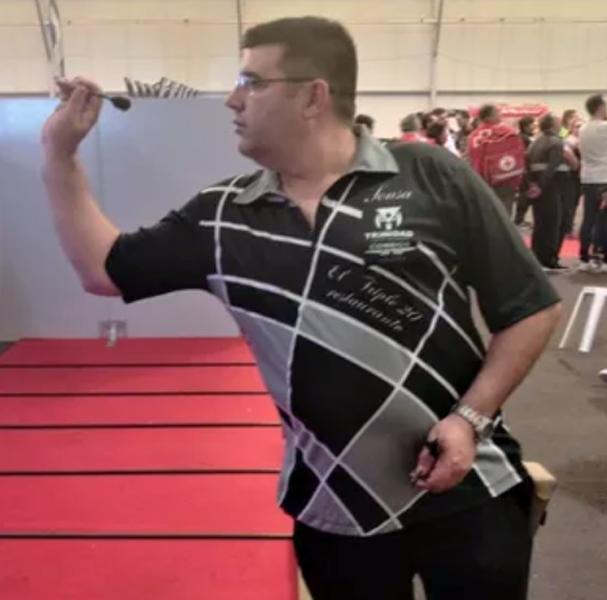 Jose De Sousa Type 2 Trinidad Steel Tip Darts